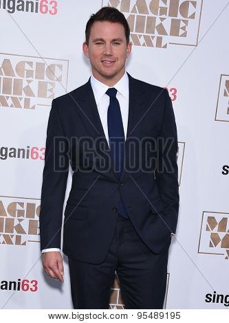 LOS ANGELES - JUN 25:  Channing Tatum arrives to the