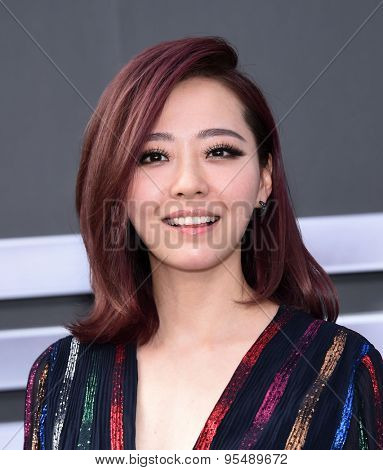 LOS ANGELES - JUN 28:  Jane Zhang arrives to the