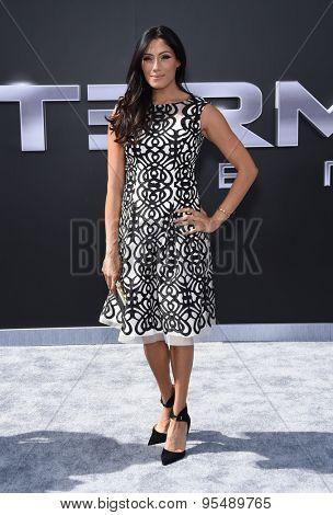 LOS ANGELES - JUN 28:  Tehmina Sunny arrives to the