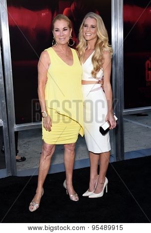 LOS ANGELES - JUL 07:  Kathie Lee Gifford & Cassidy Gifford arrives to the