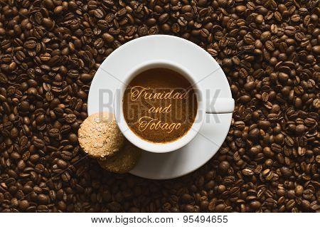 Still Life - Coffee Wtih Text Trinidad And Tobago