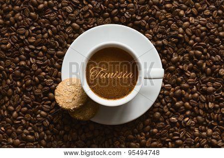 Still Life - Coffee Wtih Text Tunisia