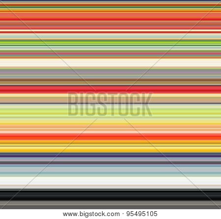 Tube Striped Background In Many Shades Of Rainbow Color