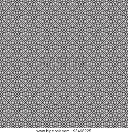 Simple geometric vector pattern. 3d