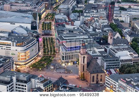 City Center Of Frankfurt Main