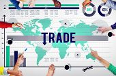 foto of bartering  - Trade Commerce Commodity Merchandise Sale Concept - JPG