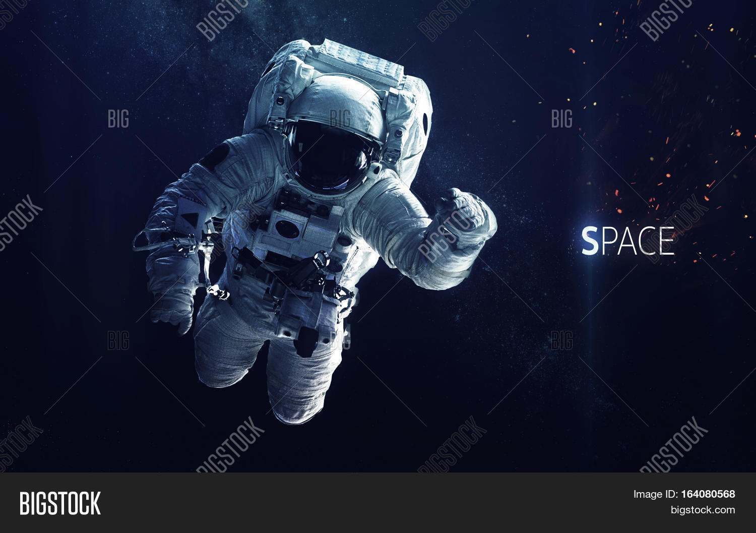 astronaut in deep space - photo #9