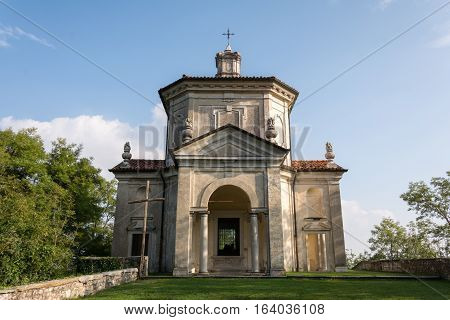 The Assumption of Mary. Fourteenth Chapel to the Sanctuary of Santa Maria del Monte on the Sacro Monte di Varese.