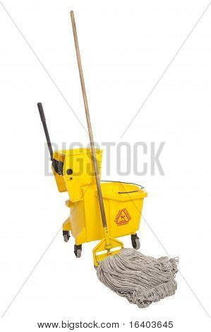 Industrial Mop And Bucket