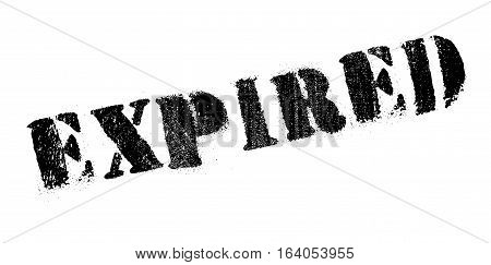Expired rubber stamp. Grunge design with dust scratches. Effects can be easily removed for a clean, crisp look. Color is easily changed.