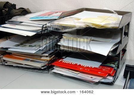 File In A Filing Messy