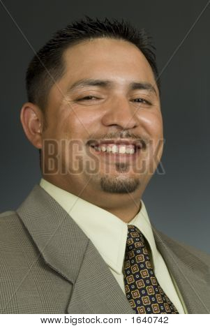 Cheerful Latino