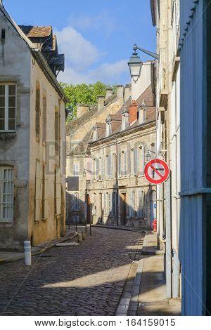 Street Scene In Beaune