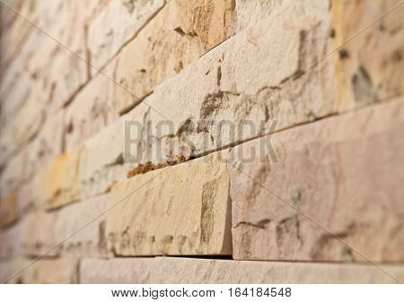 brick wall interior rock stone texture background