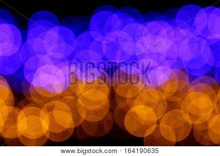 Color Blur Lights