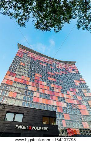 Gsw Tower In Berlin, Germany