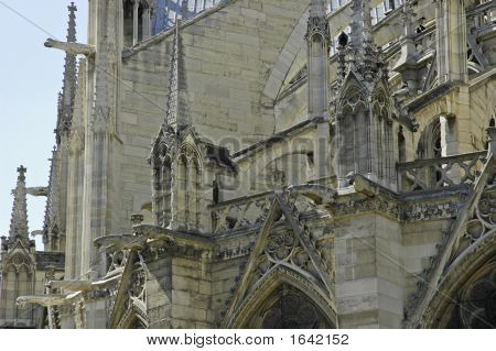Wall Of Notre Dame