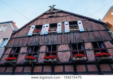 Historical House In Muenster, Germany