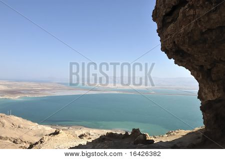Dead Sea view.