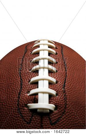 American-Football-Schnürung