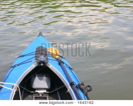Blue Kayak