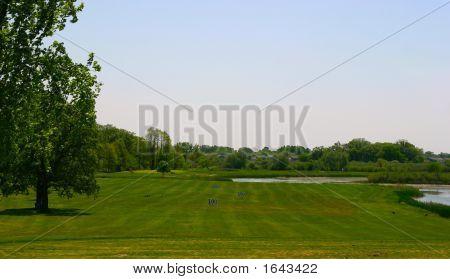 Driving Golf Range