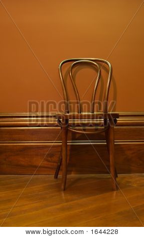 Brown Waiting Chair