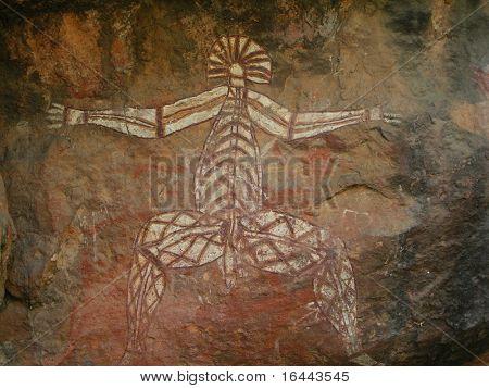 Aboriginal Rock Art - Kakadu