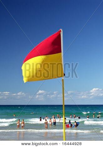 Australian Surf Livesaving Patrol Flag
