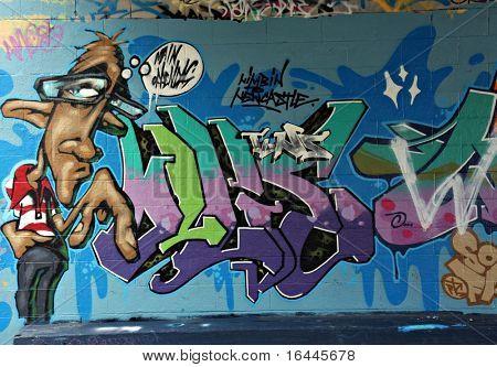 Street art - Newcastle