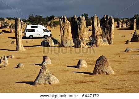 Tour Australia by Campervan - Pinnacles at Numbung National Park
