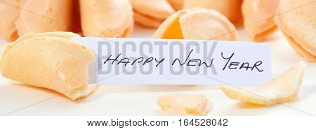 Chinese New Year Fortune Cookie Social Media Banner