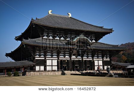 Nara Daibutsu todai ji - LArgest Wooden building in Japan