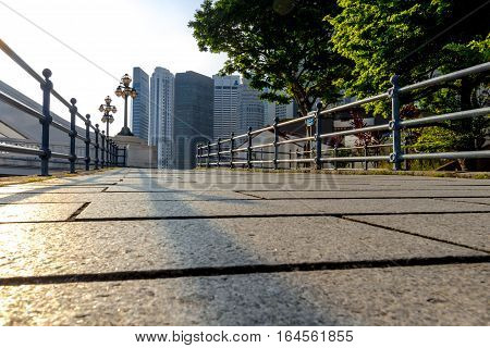 Modern Singapore City And State