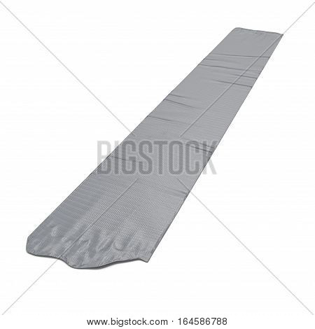 Sticky tape with copy space on white background. 3D illustration