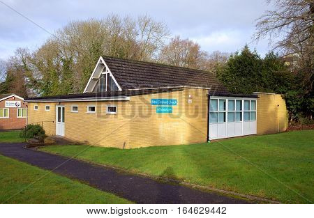 Bracknell,England - January 10, 2017: The New Covenant Church in Bracknell, England is a local non-denominational christian church providing for worship,prayer and Sunday School