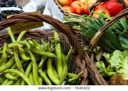 Market Vegetables.