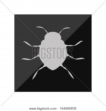 virus infection bug icon vector illustration design
