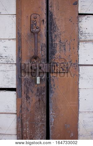 The door was locked with key background