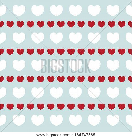 romantic texture with hearts Valentine day. Pattern for wallpaper, patterns, web page background, surface textures. Vector pattern. Vector illustration.