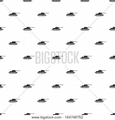 Tank pattern. Simple illustration of tank vector pattern for web