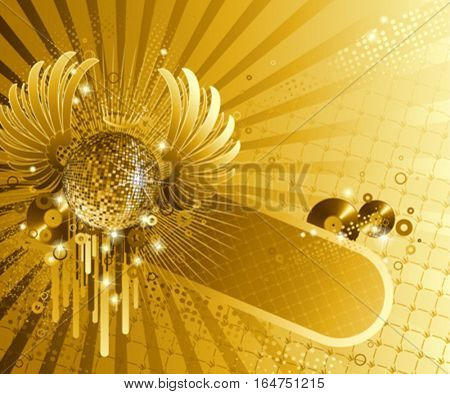 Abstract party design. Vector illustration.