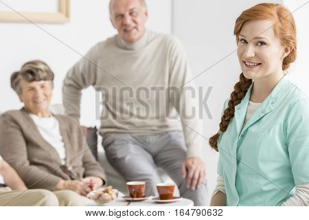 Elder Charges With Their Nurse