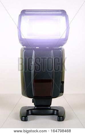 Black Photo Camera Flash