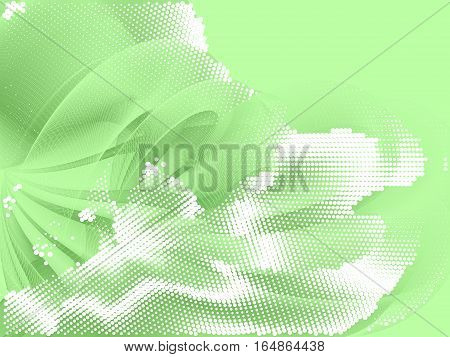 abstract fantasy composition, gradation effect without gradient