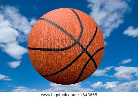 Basketball With Sky