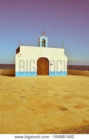 Small Church In Spain