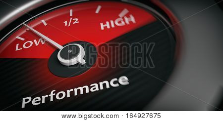 3D Rendering Car Indicator Low Performance