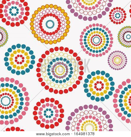 Abstract seamless background pattern. Vector illustration. EPS10