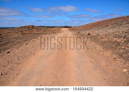 Countryside Desert Dirt Road